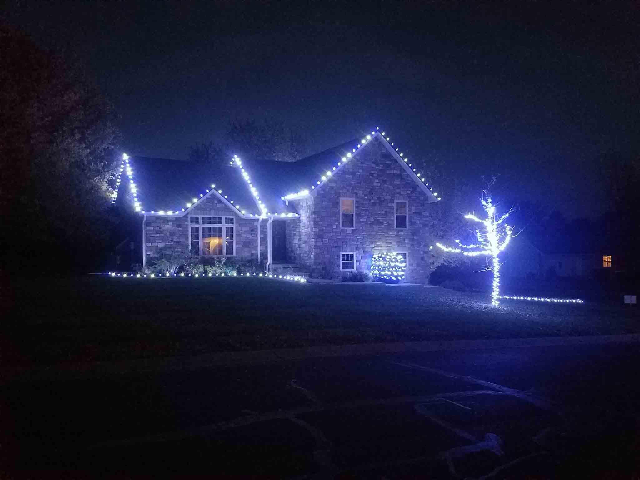 holiday light installation smithton mo we hang christmas lights